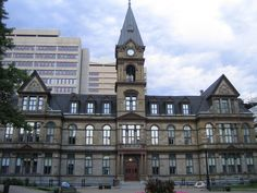 Most Beautiful City Halls In North America Buildings & Architecture Most Beautiful Cities, Nova Scotia, Big Ben, North America, Mansions, Architecture, House Styles, Building, Arquitetura