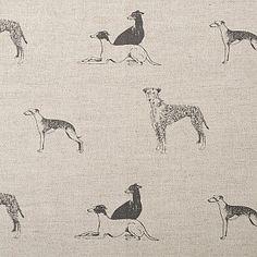 Lurcher Fabric #naturalcurtaincompany