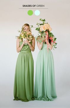 5 Mix N' Match Bridesmaid Looks You'll Love! http://www.theperfectpalette.com/2013/11/5-mix-match-bridesmaid-looks-youll-love.html