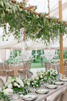 Tuscan Inspired Summer Wedding - Style Me Pretty Marquee Wedding, Tent Wedding, Wedding Reception, Dream Wedding, Wedding Centerpieces, Wedding Decorations, Table Decorations, Christmas In Italy, Tuscan Style Homes