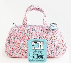 The Clover bag pattern is fora very smallyet super sweetcosmetics bag. The Clover bag interior is fully lined withno seams tobind...