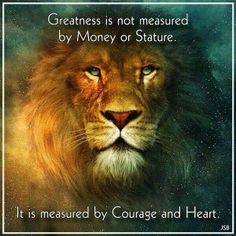 Courage Measured