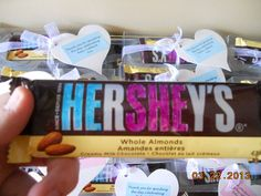 HE r SHE y's - baby-shower thank you gift :) perfect for the surprise baby!