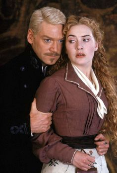 """Hamlet"" movie still, 1996.  L to R: Kenneth Branagh, Kate Winslet. - 2 of my faves in my favorite version of my favorite Shakespeare play. Be still, my beating heart!"
