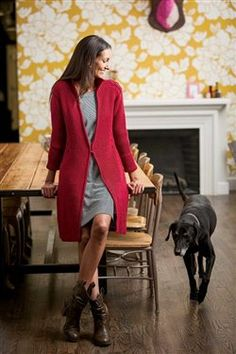 Emily's Coat by Andrea Babb for Interweave Knits Fall 2012