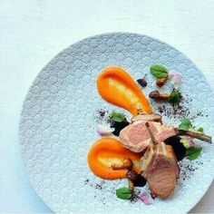 Lamb Cutlets with Orange Pepper Coulis