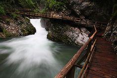 Bezienswaardigheden Slovenië - Vintgar Gorge, Slovenia (1)