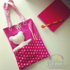 Sac à gouter coloré pour enfant - snack bag for child - colored bag for kids