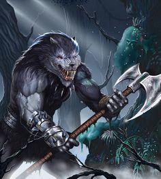 Wolf Knight by malverro.deviantart.com on @deviantART