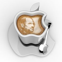 iCup is an Apple Logo-Shaped Mug For Your iCoffee...!
