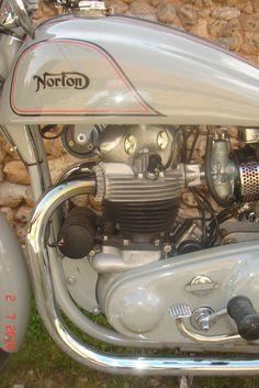 Moto 500 Norton 88 - 1954