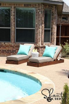 37 Creative DIY Outdoor Furniture Ideas Creative DIY Outdoor Furniture Ideas 3337 Creative DIY Outdoor Furniture IdeasBy Posted on August deck, patio, and Backyard Decor, Spring Furniture, Outdoor Lounge, Diy Outdoor Furniture, Lounge Chair Outdoor, Diy Outdoor, Used Outdoor Furniture, Pool Decor, Outdoor Furniture Plans