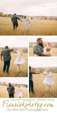 Flourish Featured Photographer Rebekah Murray | Engagement Session in the Mountains | Engagement in Fall | Lifestyle Engagement