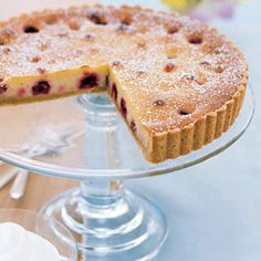 Sink your teeth into this scrumptious raspberry-almond tart. #dessert #recipe