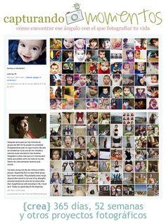Capturando momentos: {crea} 365 días - 52 semanas y otros proyectos fotográficos