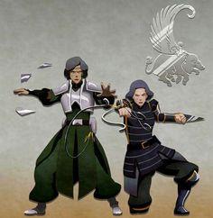 #Beifong ~ Lin y Suyin