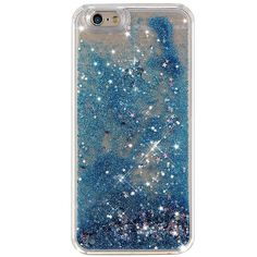 STARRY NIGHT GLITTER IPHONE CASE ($22) ❤ liked on Polyvore featuring accessories, tech accessories, iphone cases, pink iphone case, iphone sleeve case, apple iphone cases and galaxy iphone case