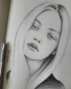 crystal_arts_ Quick sketch #sketch #sketchbook #moleskine #pencil #portrait #pencildrawing #karakalem #eskiz #çizim #photo #drawing #draw #doodle #fashion #model #fashionillustration #illustrator #illustration #designer #blonde #arts_gallery #arts_help #arts via http://instagram.com/zbynekkysela
