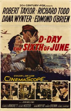 1956 movie posters | Day, the Sixth of June Movie Posters From Movie Poster Shop