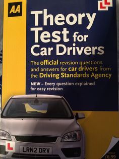 A good book to help you pass the theory test.  If you need further help then download my free theory test app on my website www.drive-travis.co.uk