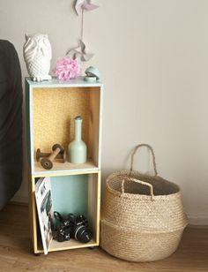 étagère caisse de vin sokeen, DIY déco récup