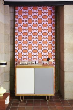 The first Eley Kishimoto wallpaper collection