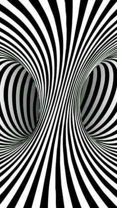 Eye Tattoo Geometric Cas 35 Ideas For 2019 Illusion Kunst, Illusion Drawings, Illusion Art, Op Art, Art Fractal, Cool Optical Illusions, Muster Tattoos, Trippy Wallpaper, Sharpie Art