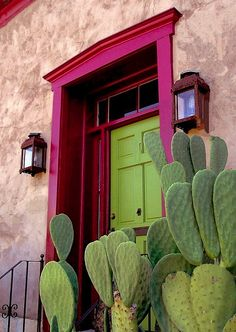 unpolished life: Colorful doors