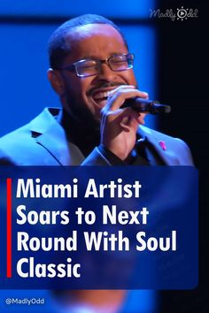 """Roderick Chambers arrives from Miami to sing a Brian McKnight classic for his season eighteen blind audition. The Voice welcomed a new soulful singer after one of our coaches was overjoyed by his song choice and smooth delivery. What a way to capture the essence of """"Back at One"""" while owning it at the same time. #RoderickChambers #VoiceBinds #TheVoice"""