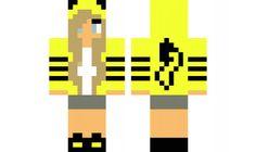 minecraft skin Pika-Pika-Girl