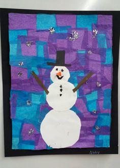 Snowman art...