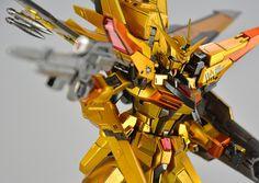 GUNDAM GUY: MG 1/100 Gundam Akatsuki - Painted Build
