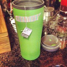 washi tape way to save your tea bag!