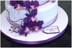 Image result for orchid birthday cake
