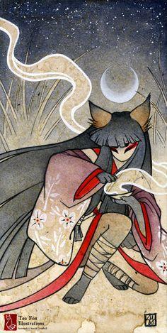 Fox Spell by TeaKitsune.deviantart.com on @DeviantArt