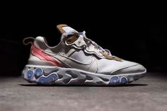 release date: 02dcd 7abc4 The Shoe Surgeon Remixes Nike s React Element 87 in Buttery Leather