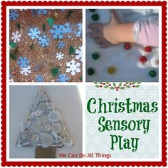 we can do all things: Christmas Sensory Play