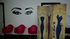 Makeup Studio Makeup Studio, Four Square, Decor, Decoration, Decorating, Deco