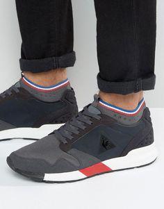 4a3226d7c770 Le Coq Sportif Omicron Sneakers In Black 1710149
