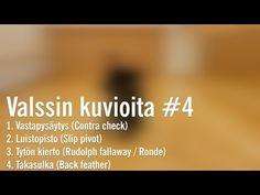 Valssin kuvioita #4 /kilpatanssivariaatioita - YouTube