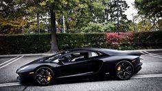 All Black Lamborghini Aventador one of my dream cars