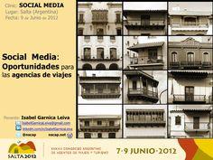 Presentación descargable. Curso Clinic - Social Media: Oportunidades para las agencias de viaje