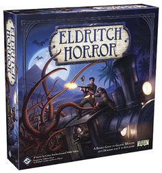 2017/18 Review again. Eldritch Horror Board Game. Supposedly replaces Arkham Horror.