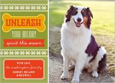 for mabel, Unleash The Merriment Holiday Card