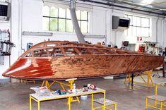 Ariston n° 799 - RIVA RAM - Riva Restoration - Classic Riva - Aquarama Riva Boat, Fast Boats, Jet Ski, Wooden Boats, Boat Building, Restoration, Yachts, Classic, Aviation
