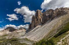 Tre Cime di Lavaredo,  Auronzo di Cadore,Dolomites - null