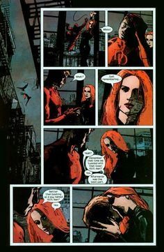 Daredevil and the Black Widow (Marvel Comics).
