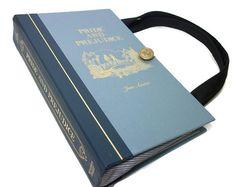 Book Purse Jane Austen Pride and Prejudice Book by retrograndma, $55.00