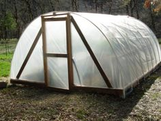 DIY hoop house. someday i will build this.