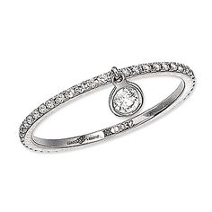 Ivanka Trump Diamond Band with Charm - jewelry - We're Obsessed - Fashion - Instyle.com